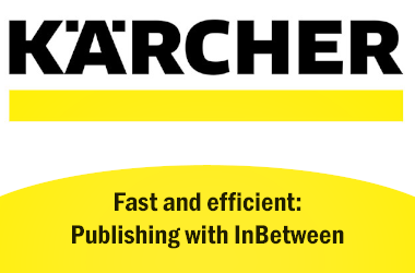 Fast and efficient: Kärcher produces catalogues with InBetween